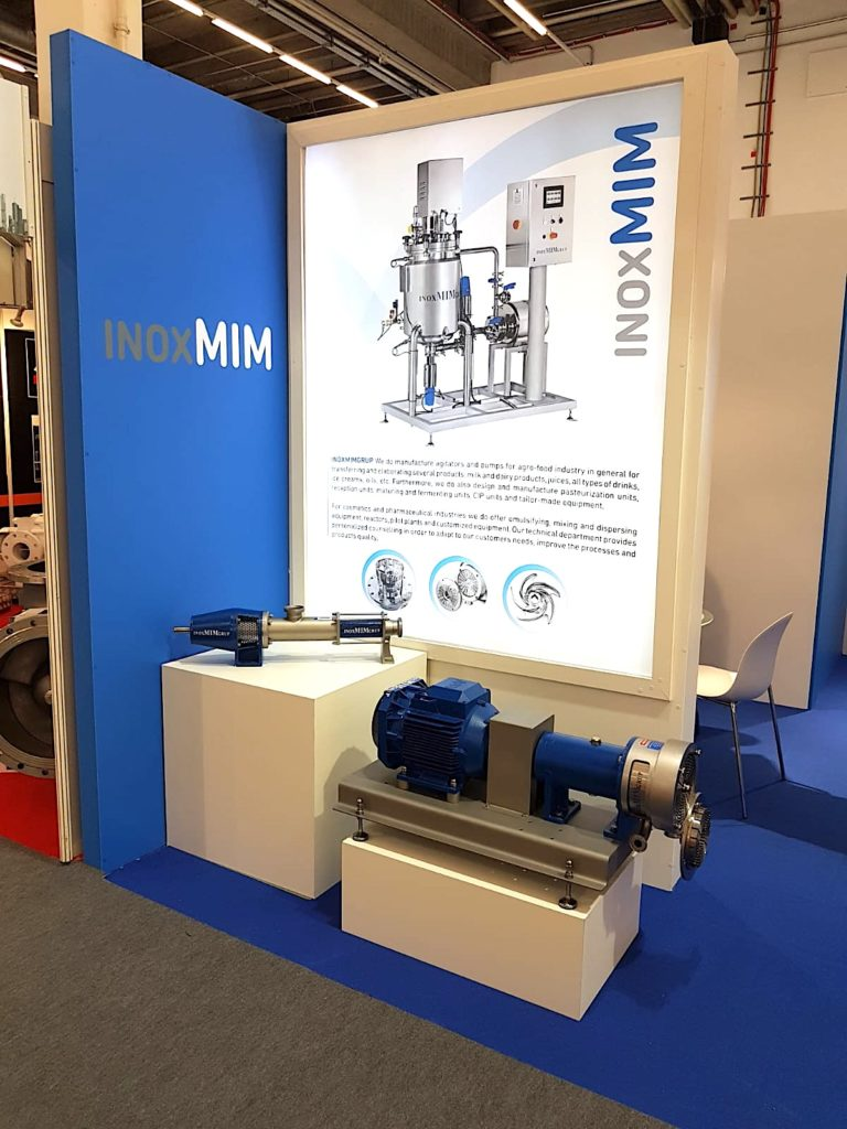 INOXMIM in PPMA 2018 trade show